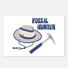 FOSSIL HUNTER Postcards (Package of 8)