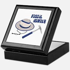 FOSSIL HUNTER Keepsake Box