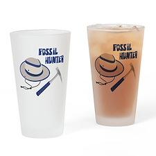 FOSSIL HUNTER Drinking Glass