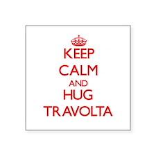 Keep calm and Hug Travolta Sticker