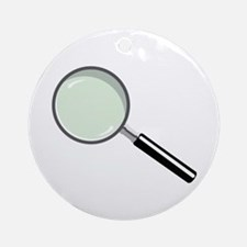 Magnifying Glass Ornament (Round)