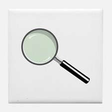 Magnifying Glass Tile Coaster