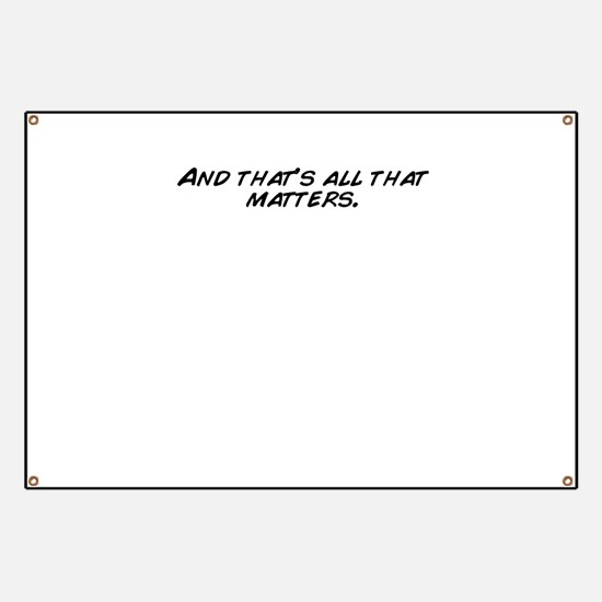 They all matter Banner
