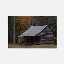 Carter Shield's Cabin, Cades Cove Rectangle Magnet