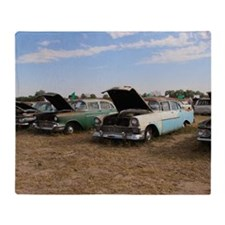 Lambrecht auction cars Throw Blanket