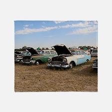 Lambrecht auction cars Throw Blanket