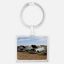 Lambrecht auction cars Landscape Keychain