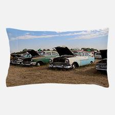 Lambrecht auction cars Pillow Case