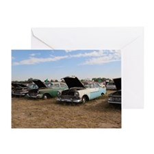 Lambrecht auction cars Greeting Card