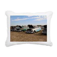 Lambrecht auction cars Rectangular Canvas Pillow