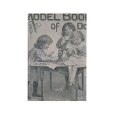 The Model Book of Dolls (F.A.O. S Rectangle Magnet