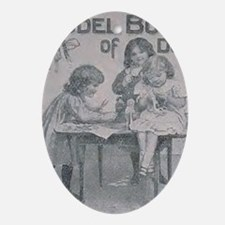 The Model Book of Dolls (F.A.O. Schw Oval Ornament