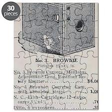 Eastman's Celebrated No. 3 Brownie Kodak Ad Puzzle