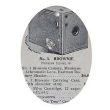Eastman's Celebrated No. 3 Brownie K Oval Ornament