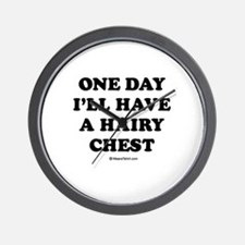 One day I'll have a hairy chest / Kids Humor Wall