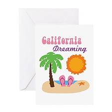 California Dreaming Greeting Cards