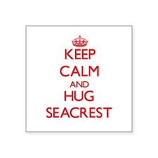 Keep calm and Hug Seacrest Sticker