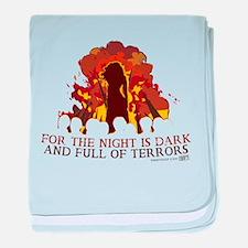 Full of Terrors baby blanket