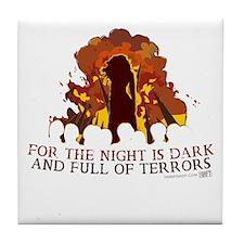 Full of Terrors Tile Coaster