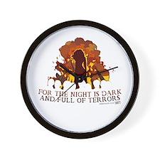 Full of Terrors Wall Clock