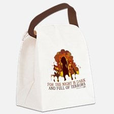 Full of Terrors Canvas Lunch Bag