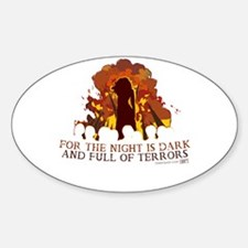 Full of Terrors Decal