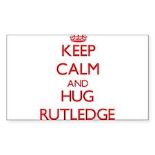 Keep calm and Hug Rutledge Decal