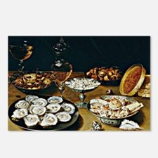 Osias Beert - Dishes with Postcards (Package of 8)