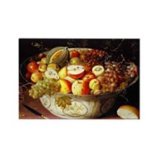 Osias Beert - Still Life of Fruit Rectangle Magnet