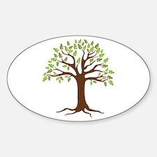 Oak Tree Decal