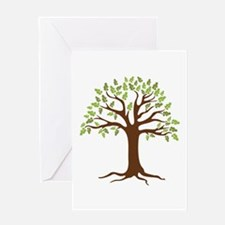 Oak Tree Greeting Cards
