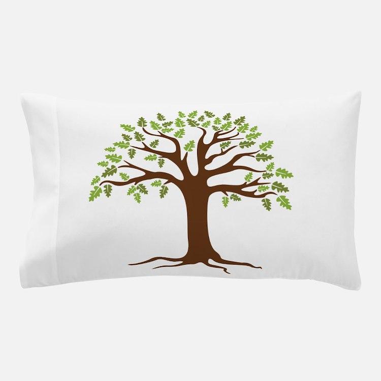 Oak Tree Pillow Case