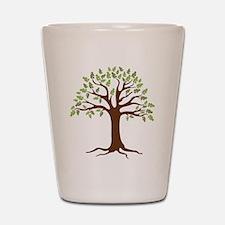 Oak Tree Shot Glass