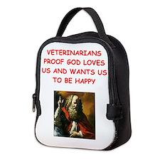 veterinarian Neoprene Lunch Bag