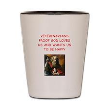 veterinarian Shot Glass