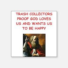 trash collector Sticker