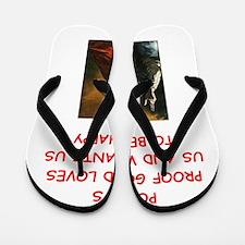 poets Flip Flops