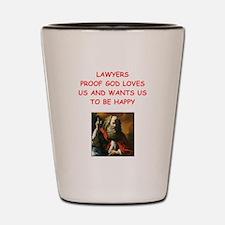 lawyer Shot Glass