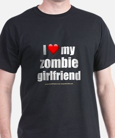 """Love My Zombie Girlfriend"" T-Shirt"