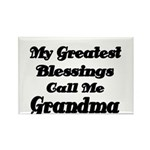 My Greatest Blessings call me Grandma Magnets
