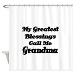 My Greatest Blessings call me Grandma Shower Curta
