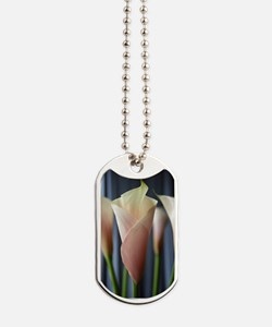 Calla Lily Cocktail Party Art Dog Tags