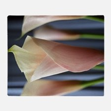 Calla Lily Cocktail Party Art Throw Blanket