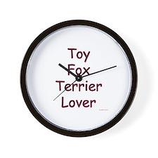 Toy Fox Lover Wall Clock