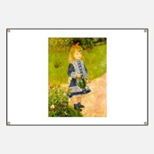 Girl With a Watering Can Banner