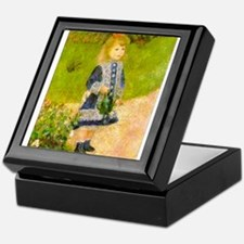 Girl With a Watering Can Keepsake Box