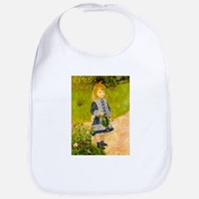 Girl With a Watering Can Bib