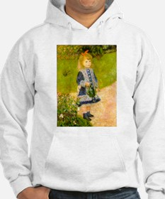 Girl With a Watering Can Hoodie