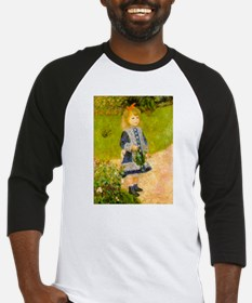 Girl With a Watering Can Baseball Jersey