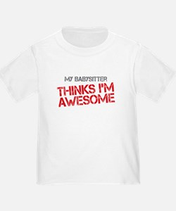 Babysitter Awesome T